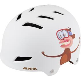 Alpina Park Jr. Lapset Pyöräilykypärä , valkoinen